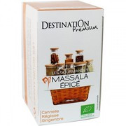 Имбирный чай в пакетиках Destination Masala