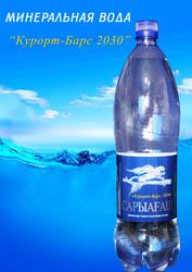 минеральная природная вода САРЫАГАШ
