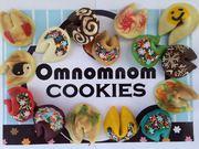 Вкусные печенья,  разноцветные,  хрустящие,  пальчики оближешь!