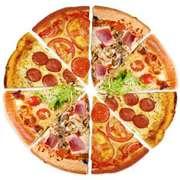 Пицца на Майкудуке с доставкой от 4х шт бесплатно.87776587519 е
